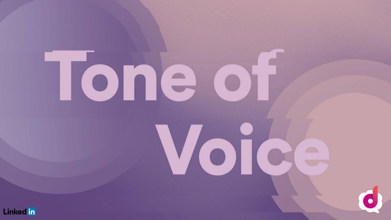LinkedIn Tone of voice Digital Leadership