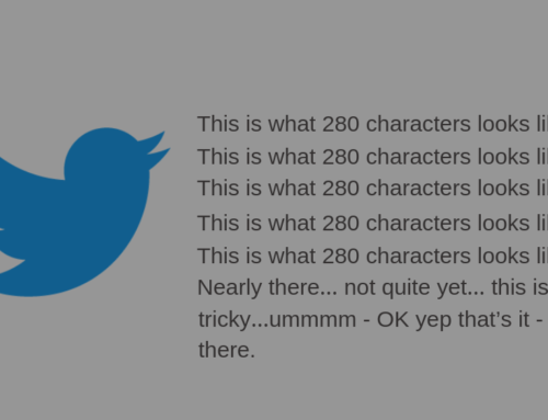 How To Maximise Your Twitter 280 Characters As A Leader