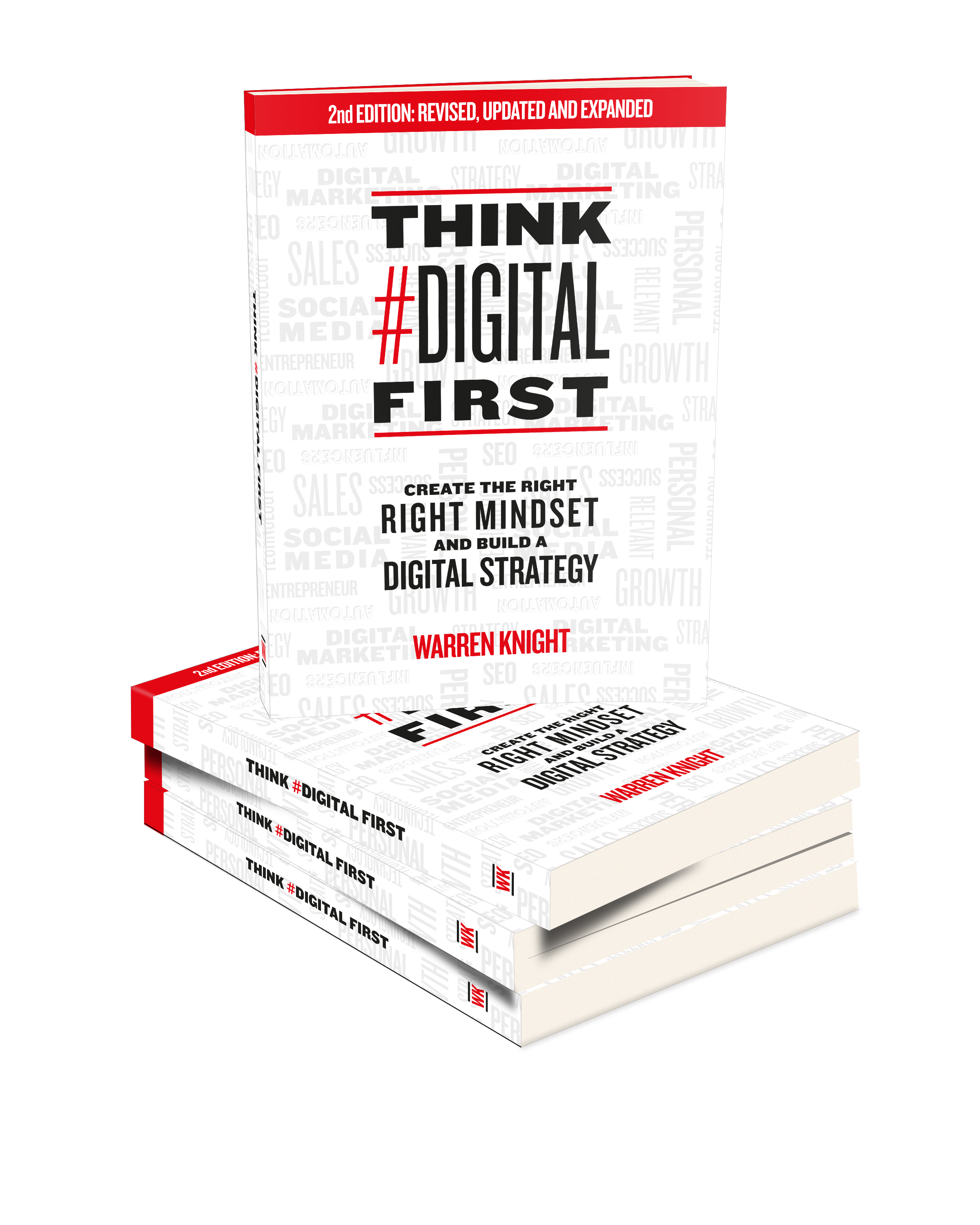 Think Digital First Book by Warren Knight
